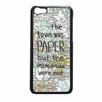 John Green Paper Towns Quote iPhone 5c Case