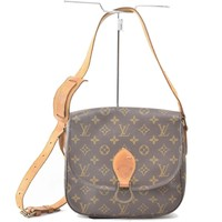 Authentic Louis Vuitton Shoulder Bag Saint Cloud GM M51242 Monogram 244451