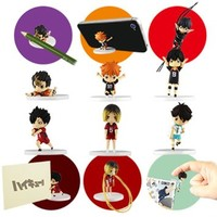 Takara Tomy Haikyuu!! Desktop Figure Set of 6