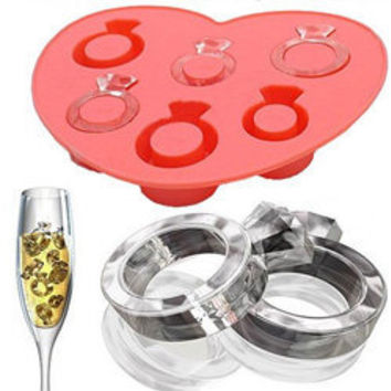Diamond Ring Ice Cube Tray