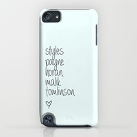 One Direction Last Names iPhone & iPod Case by JudyM