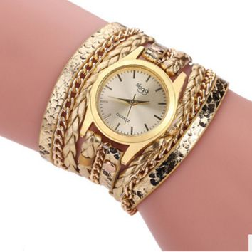 New Wrap Women Bracelet Watch