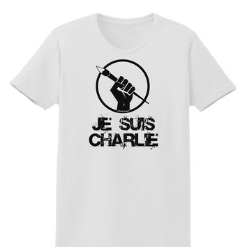 Je Suis Charlie Womens T-Shirt