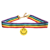 HAPPY LARRY RAINBOW CHOKER