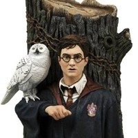 Harry Potter & Hedwig Bookend