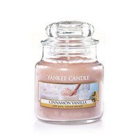 Cinnamon Vanilla : Small Jar Candles : Yankee Candle