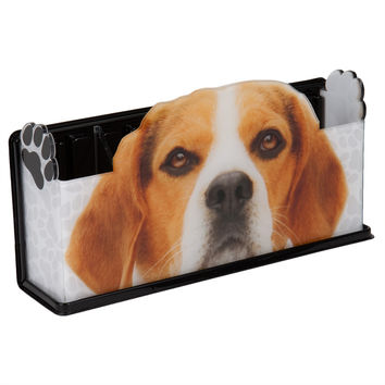 Beagle Glasses Fun Caddy Basket