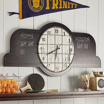 Scoreboard Wall Clock