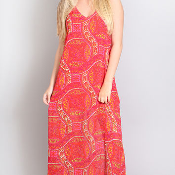 show me your mumu: erlyn maxi dress - pink colada