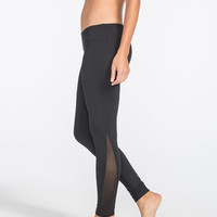FULL TILT SPORT Mesh Inset Womens Skinny Pants | Leggings