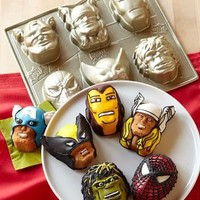 Marvel ? Cakelet Pan | Williams-Sonoma