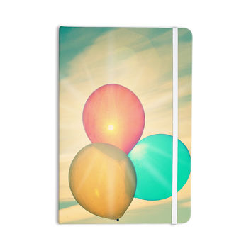 "Robin Dickinson ""Balloons"" Tan Clouds Everything Notebook"