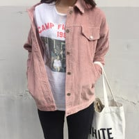 Corduroy Jacket from shopyukii