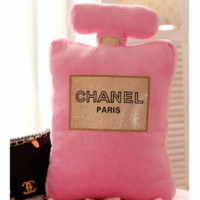Chanel Office back gilt small incense home sofa plush pillow F0216-1 pink