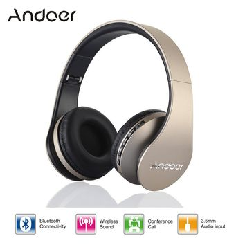 Digital 4 in 1 Stereo Wireless Bluetooth 3.0 + EDR Headphone Headset & Wired Earphone with Mic MicroSD/TF FM Radi