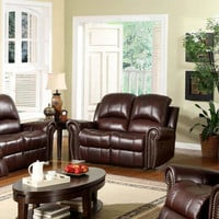 Sedona Leather Reclining Loveseat - Sears