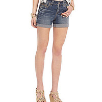 Silver Jeans Co. Suki Denim Shorts - Indigo