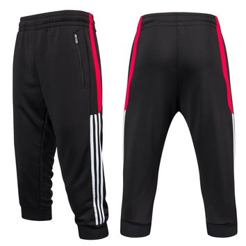 Men Soccer Training Pants 3/4 Sports Running Pant yoga Fitness Hiking Tennis Basketball Football Jogging Sweatpants Breathable