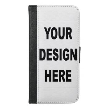 Create Your Own Custom iPhone 6 Plus Wallet Case