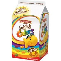 Pepperidge Farm Goldfish, Colors, 30-ounce carton