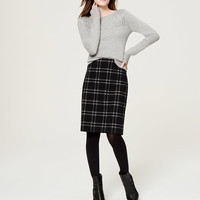 Plaid Pencil Skirt | LOFT