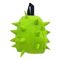 MadPax Nibbler Spiked Backpack in Lime Green
