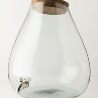 Bubbled Beverage Dispenser by Anthropologie in Clear Size: One Size Kitchen