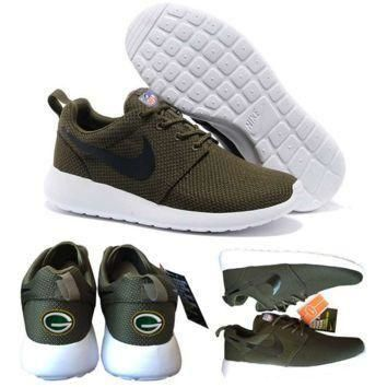 Tagre™ Nike Green Bay Packers London Olympics Brown Shoes