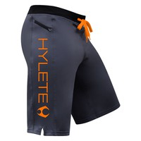 cross-training short 2.0 (Gun Metal/Atomic Orange)