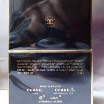 Luxury CHANEL Giftwrap & Gift bag COCO NOIR PARFUM 15ml Rare New in Sealed Box
