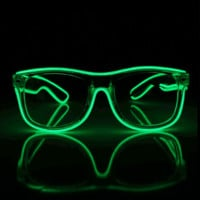 Impulse Light Up 1 Color Wayfarer Glasses by EmazingLights