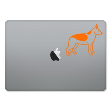 German Shepherd Sticker for MacBooks and Apple Devices