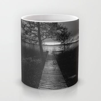 On the wrong side of the lake 9 Mug by HappyMelvin