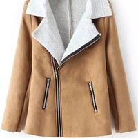 Cupshe Somewhere Out There Lapel Coat