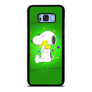 PEANUTS SNOOPY AND WOODSTOCK Samsung Galaxy S8 Plus  Case