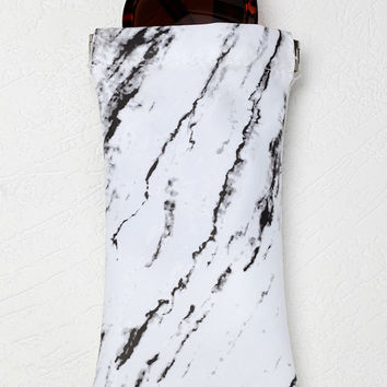 Marble Sunglasses Case