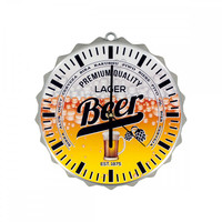 Beer Bottle Cap Clock - 2 Pack