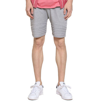 UNKNOWN Black French Terry Shorts Gray