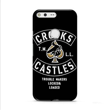 Crooks Castles Air Gun Spades Google Pixel XL 2 Case
