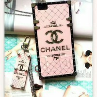 CHANEL Sale iPhone Phone Cover Case For iphone 6 6s 6plus 6s-plus 7 7plus H-AGG-CZDL