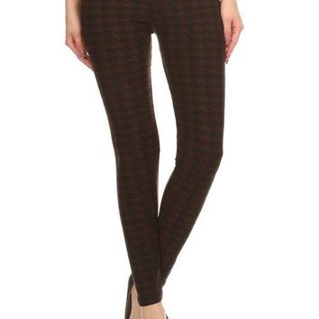 Famous Detective Houndstooth Legging