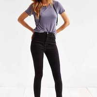 Light Before Dark Super High-Rise Skinny Jean - Black- Black