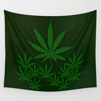 Weed Wall Tapestry by Leatherwood Design