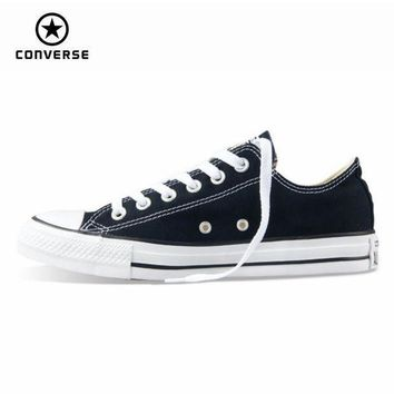 VONR3I Original new Converse all star canvas shoes men's sneakers for men low classic Skatebo