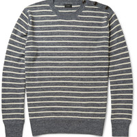 J.Crew - Babylon Striped Knitted Sweater | MR PORTER
