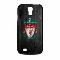 Liverpool FC Wood Style Samsung Galaxy S4 Case