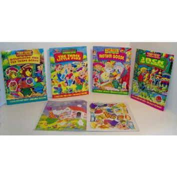 tiny tots sticker book Case of 72