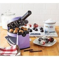 The Original Babycakes Cake Pop Kit with Flip-Over Cake Pop Maker & Chocolatier