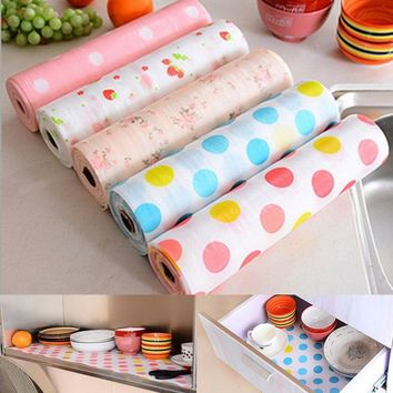 No1parts Attractive 3M Kitchen Table Drawer Shelf Liner Contact Paper Waterproof Mat Pad No Slid