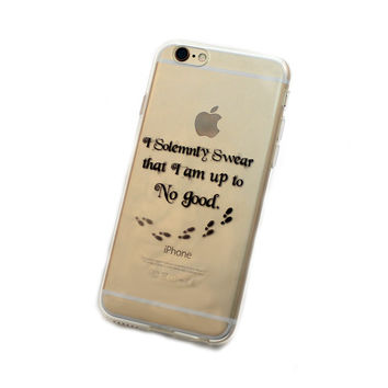 iPhone Marauder's Map Case (black)